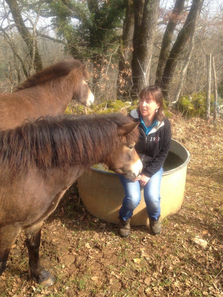 Tanya + ponies